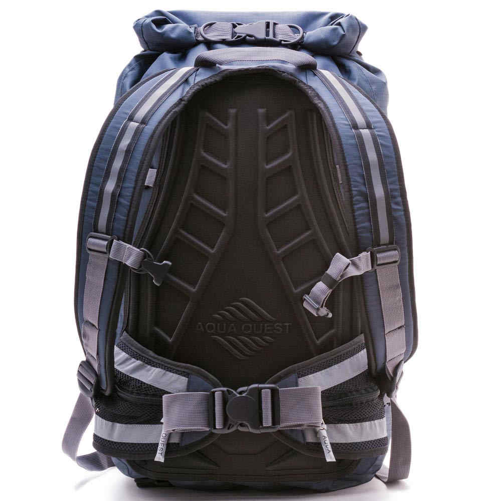 e84cde881cdc 25L Hiking Backpack Waterproof Roll Top Daypack Reflective